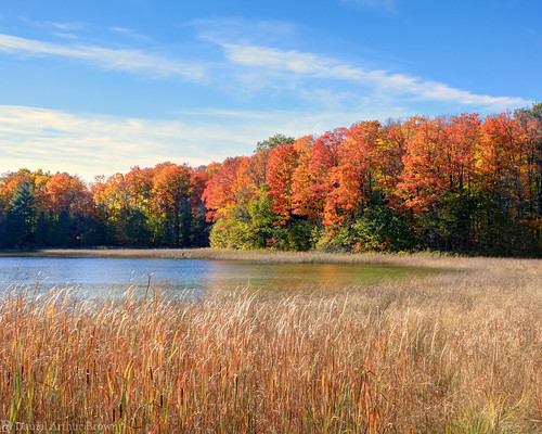cliffordlake gaylord mi michigan october upnorth vacation autumn fall fallcolors fallfoliage lake landscape leafpeeping nature travel