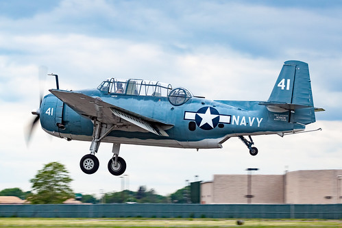 "TBM-3U Avenger ""She's the Boss"" 