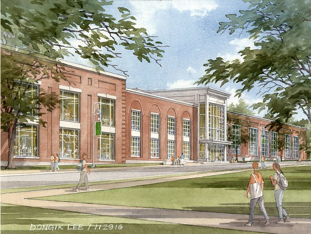 Coming soon: Babson Recreation & Athletics Center