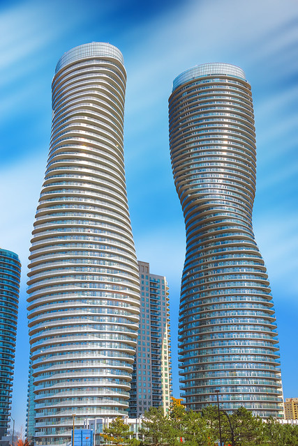 Absolute Condos 'Marilyn Monroe Towers' (Mississauga, Ontario)