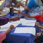 Atelier de calligraphie arabe (musée de Mayotte)