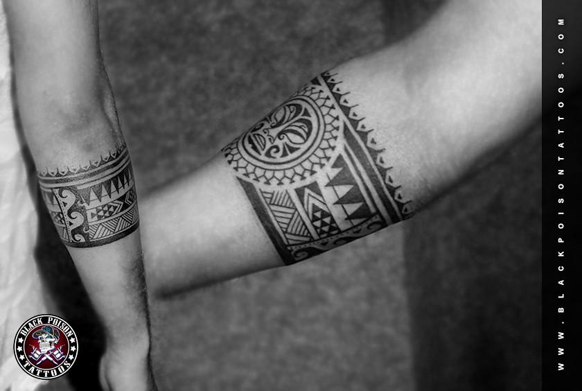 Polynesian Armband Tattoo Tiki Tiki Is Human Like Figure T Flickr