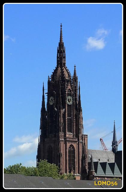 Kaiserdom St. Bartholomäus in Frankfurt (Deutschland)