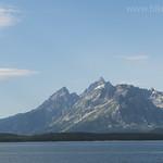 Grand Teton and Jackson Lake from Lakeshore Trail