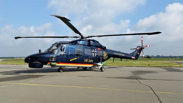 Super-Lynx Mk.88A 83+20 MFG-5 German-Navy/ Marineflieger. 100 Jahre Special c/s. Nordholz, Search And Rescue (SAR) Meet. 20-05-2017.