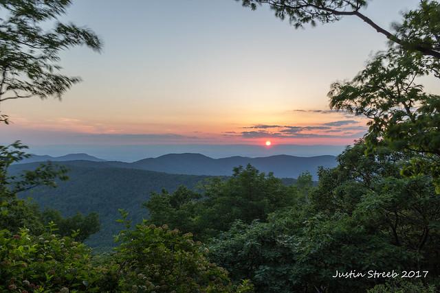 Loft Mountain Sunset '17
