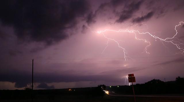 Nocturnal lightning #2
