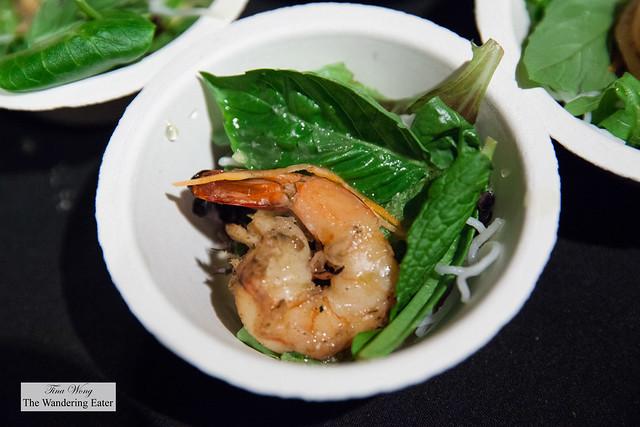 Shrimp noodle salad by Mooncake Foods