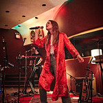 Tue, 09/05/2017 - 7:14pm - Maggie Rogers delights a room of WFUV members at Electric Lady Studios in New York City, 5/9/17. Hosted by Carmel Holt. Photo by Gus Philippas