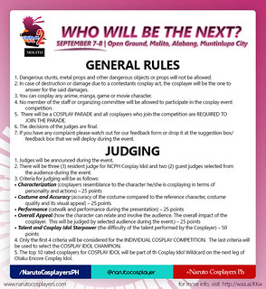 GENERAL RULES AND JUDGING