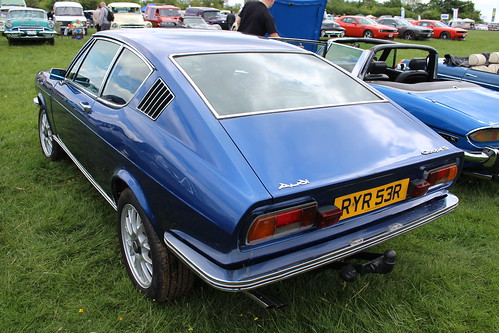 1976 Audi 100 Coupe S | Chiltern Hills Vintage Vehicle Rally… | Flickr