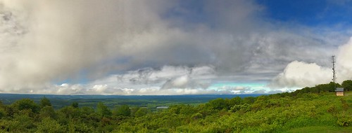 pennsylvania scenic view sky clouds park hill mountain landscapes iphonephotography iphone panorama