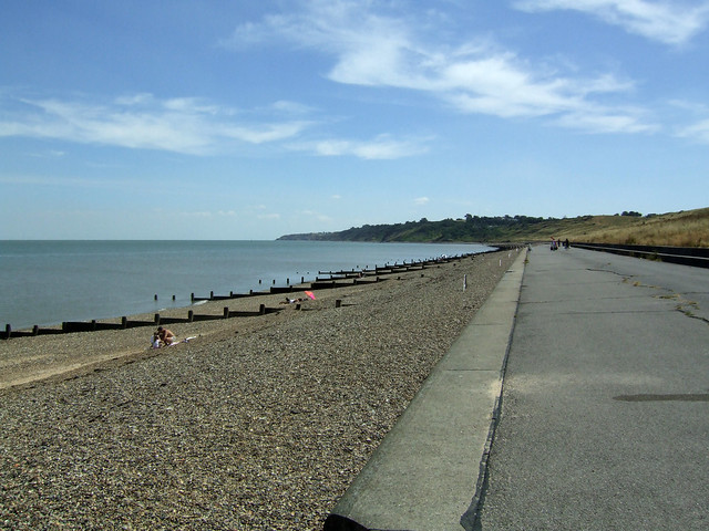The beach at Minster on the Isle of Sheppey
