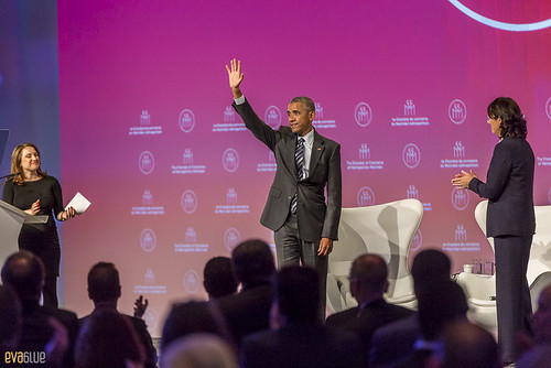 barack obama palais des congres montreal - 03 | by Eva Blue