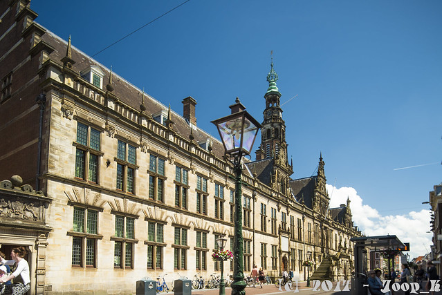 Leiden Town hall - Stadhuis