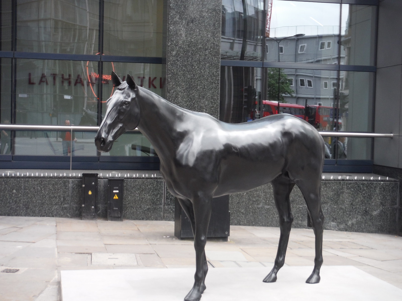Mark Wallinger - The Black Horse SWC Walk Short 24 - Sculpture in the City