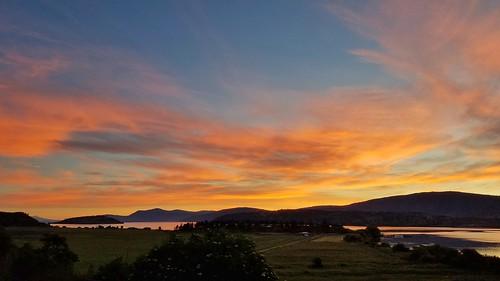 sunrise sunriseoregon sunrises oregon klamathfalls klamathcounty klamathlake clouds beautifulsky beautifullake beautifulday