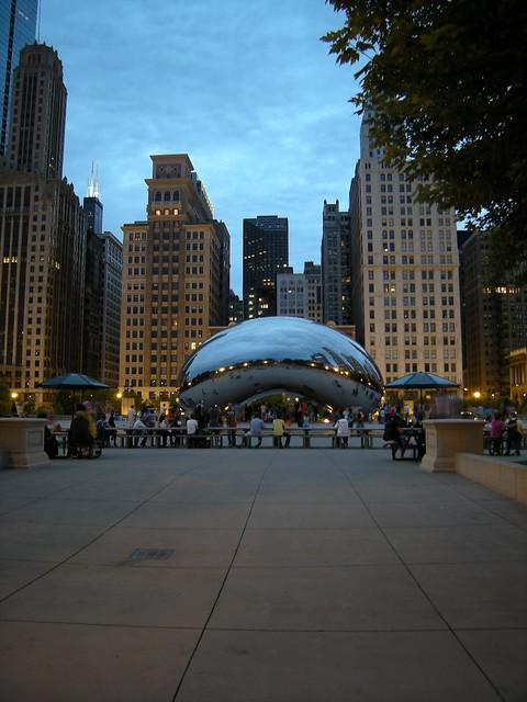 Cloud Gate, Chicago (USA)