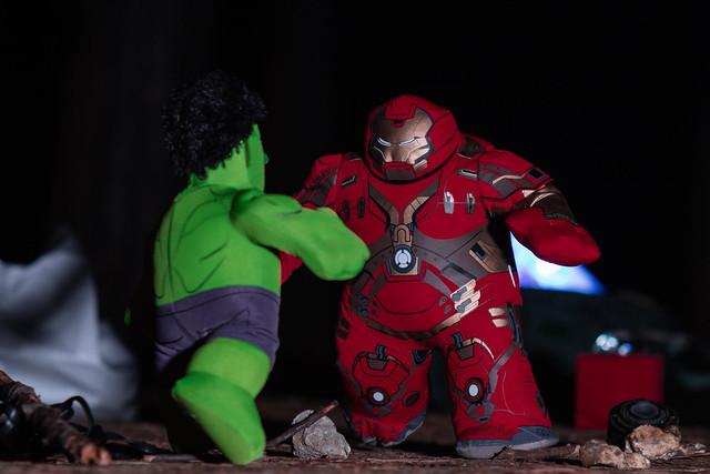 HulkBuster vs Hulk