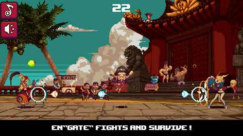 frontgate fighters - un picchiaduro 'alternativo' da provare su Android ;)