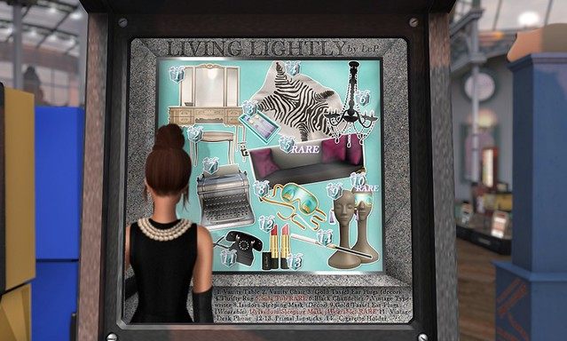 Le Primitif - Living Lightly | cool cohesive theme centered around audrey hepburn/holly golightly