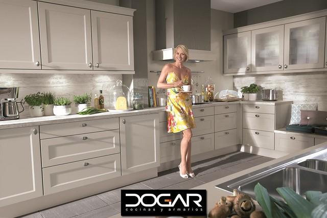 Nuestra colección de muebles de cocina en tonos crema en Las ...