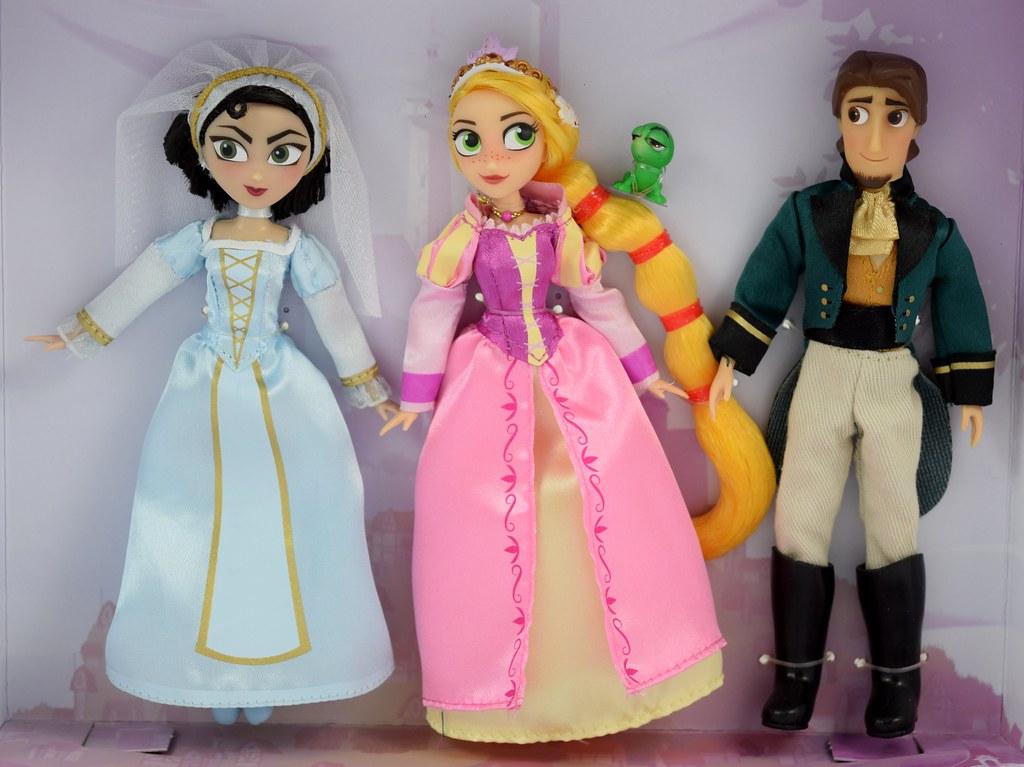 Disney Parks Tangled The Series Mini Doll Set Rapunzle Cassandra Flynn 5 New Film Tv Spielzeug