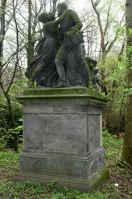 """""""Die glückliche Heimkehr des Kriegers"""" im Berliner Tiergarten"""