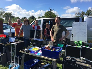 Our stall at the Dunstable downs radio rally. | by TechnomadicJim