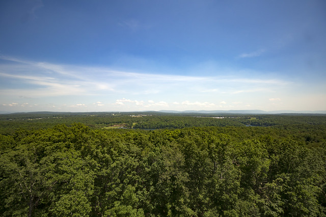 View from Pilot Knob Fire Tower, Cumberland County, Tennessee