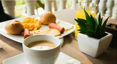 Empieza tu día con un delicioso desayuno en el #restaurante