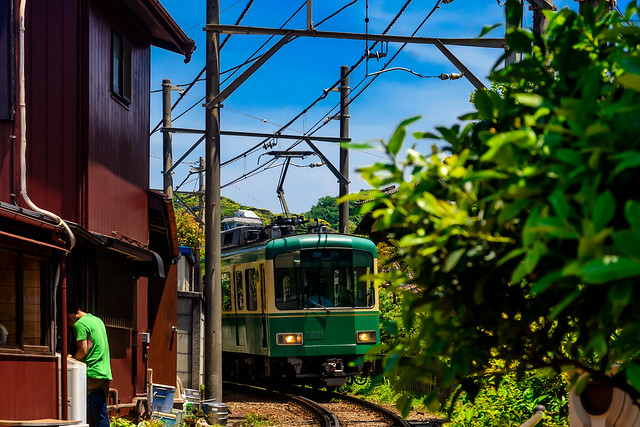 Enoden 1000 Type Train : 江ノ電1000形電車