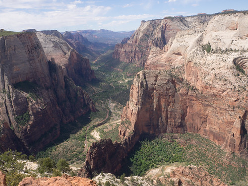 Zion Canyon from Observation Point   by campsjc