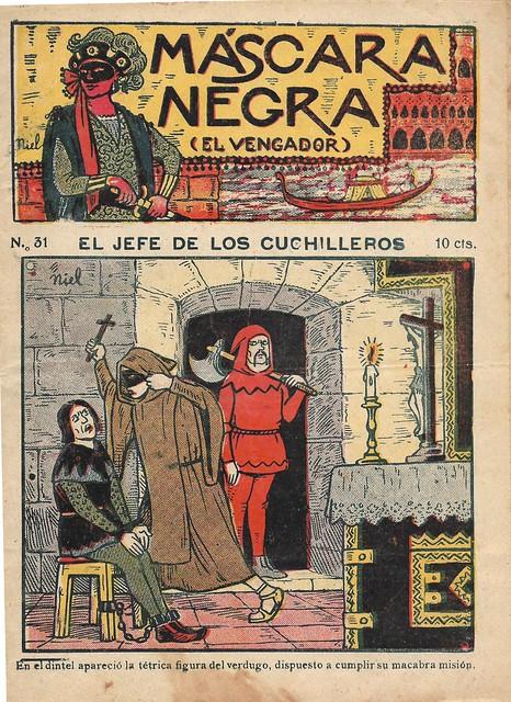 Spanish Inquisition dime novel