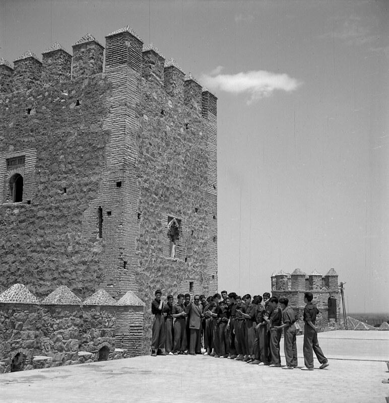 Toledo en los años 50. Fotografía de Nicolás Muller  © Archivo Regional de la Comunidad de Madrid, fondo fotográfico