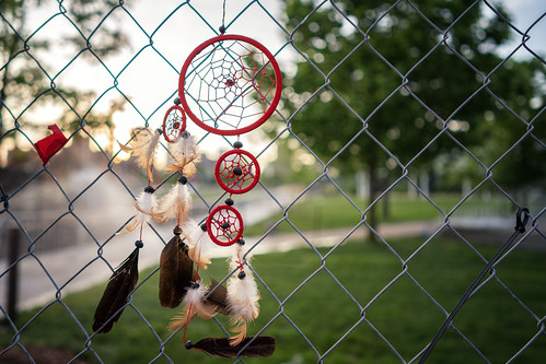 Dream Catcher on the perimeter fence at the Walker Art Center | by Lorie Shaull