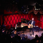 Mon, 08/05/2017 - 6:01pm - Father John Misty performs for WFUV members at Rockwood Music Hall in New York City, May 8, 2017. Hosted by Carmel Holt. Photo by Gus Philippas