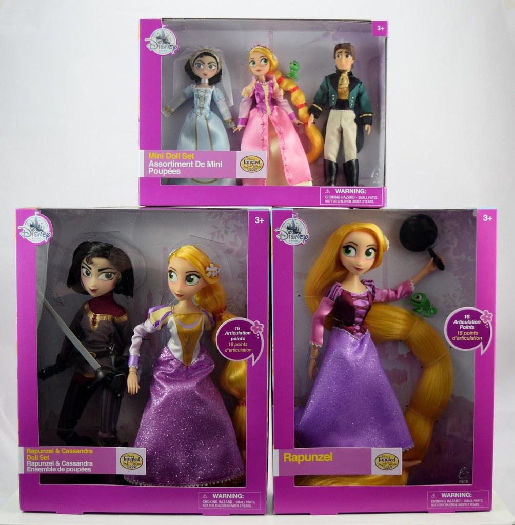 Speelgoed En Spellen Bioscoop Tv Personages Speelgoed Disney Store Tangled The Series Deluxe Doll Set