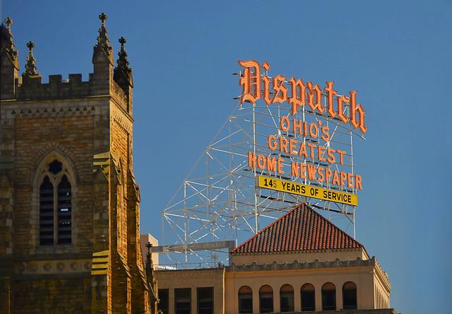 dispatch sign