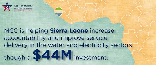 Sierra Leone ADay infogram | by MCCgov