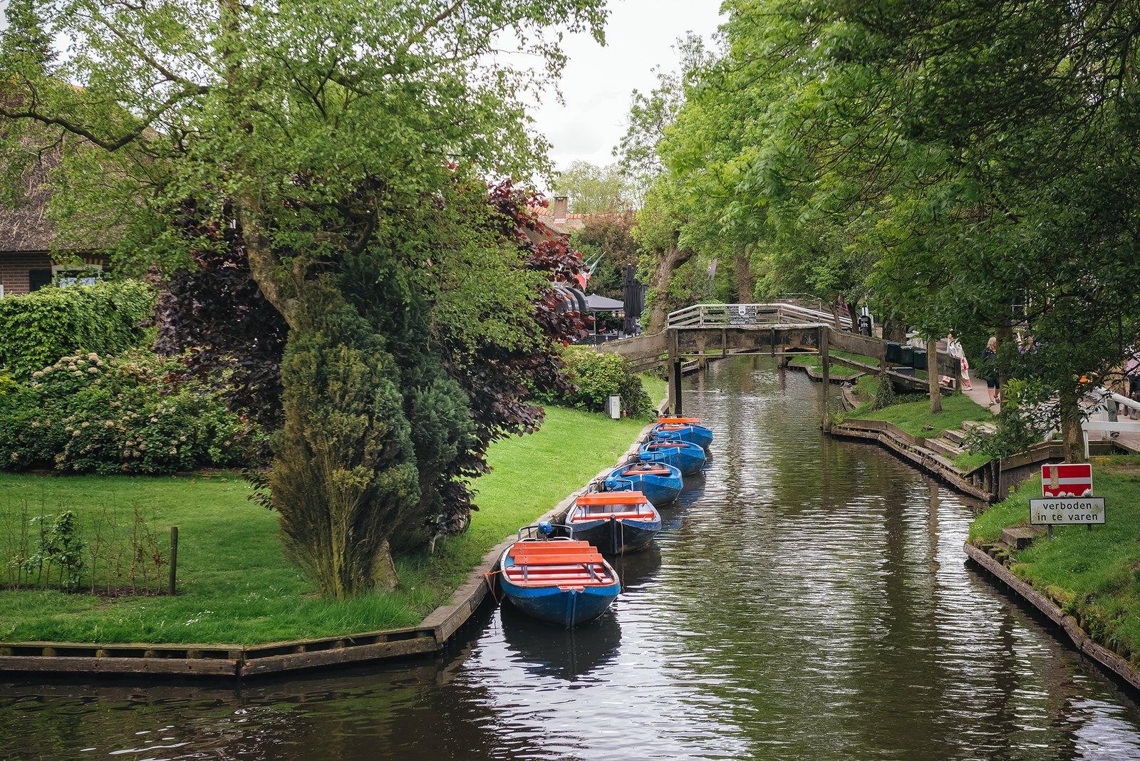 【影像札記】荷蘭 羊角村 / Netherlands(Holland) Giethoorn