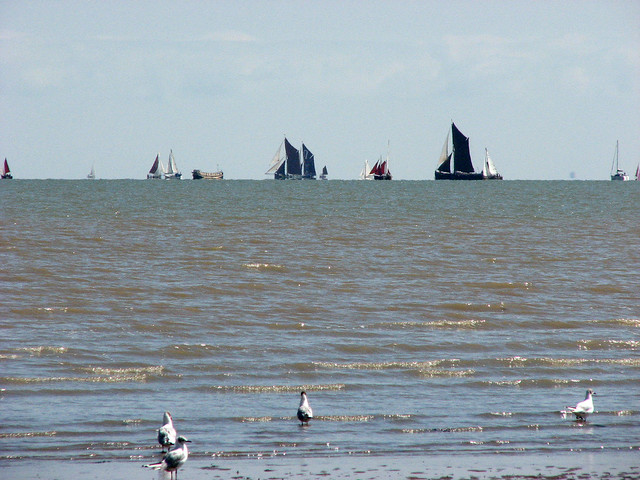 Boats in the Swale
