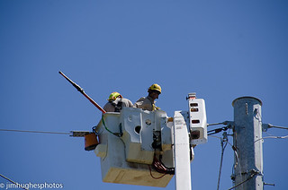 Entergy Power Line Workers