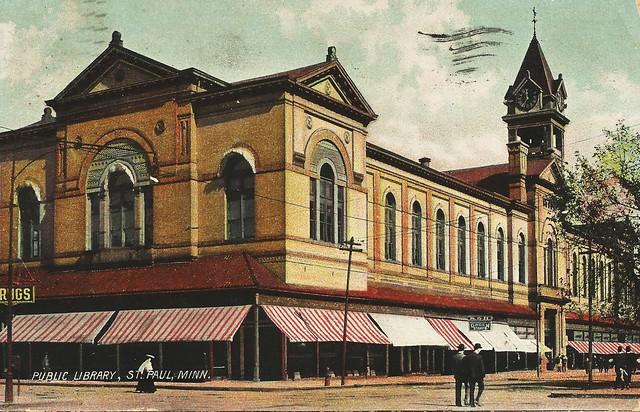 Public Library, St. Paul, Minn. circa 1908