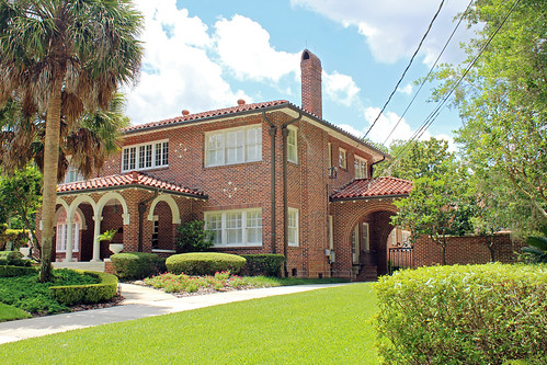 architecture house residence historical mediterraneanrevival ocala florida