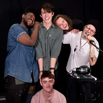 Mon, 12/06/2017 - 11:09am - Hippo Campus Live in Studio A, 6.12.17 Photographer: Kristal Ho