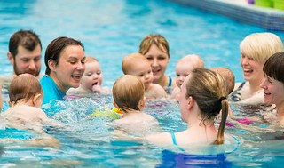 Family Swim | by Stephanie Riddell