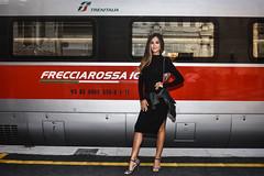 Giorgia Palmas - Lancio nuovo orario estivo Trenitalia in Stazione Centrale di Milano