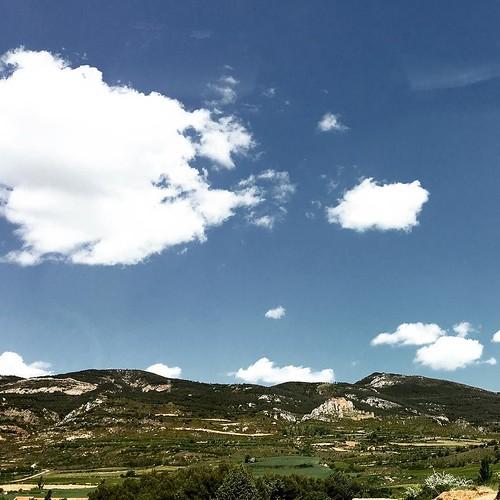 #spain #aragon #paisaje #landscape #nubes #clouds | by gaedik