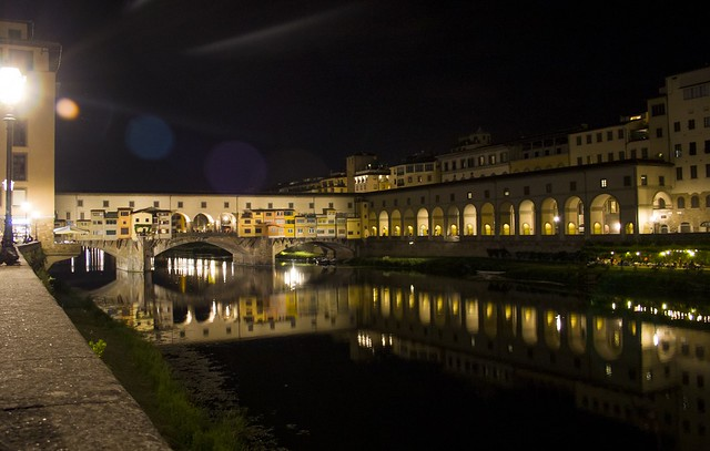 A Night Walk in Florence